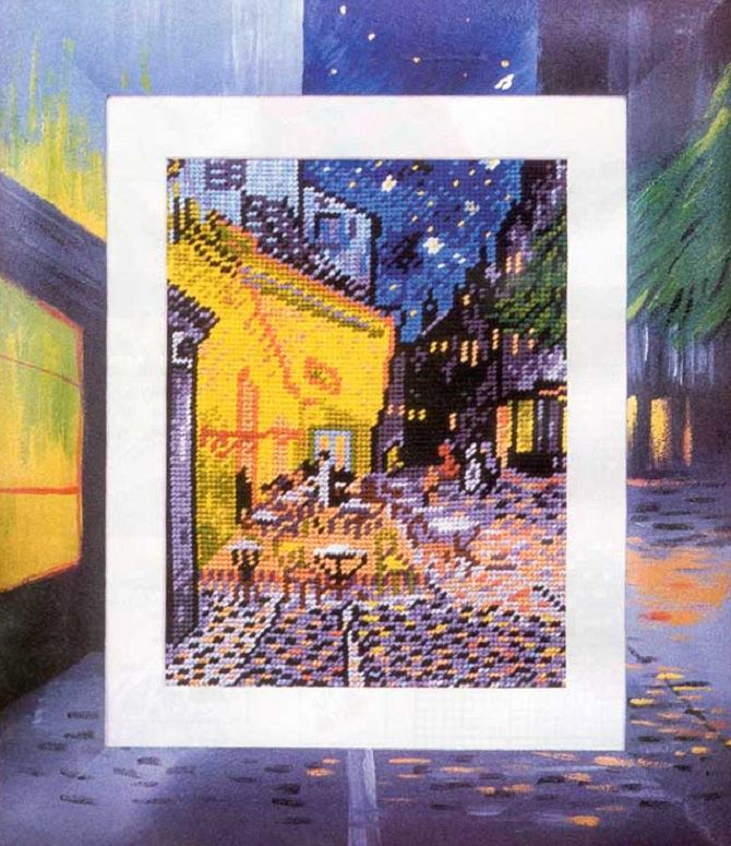 Van Gogh Cafe at Night (1)