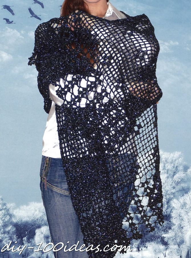 free crochet shawls patterns (1)