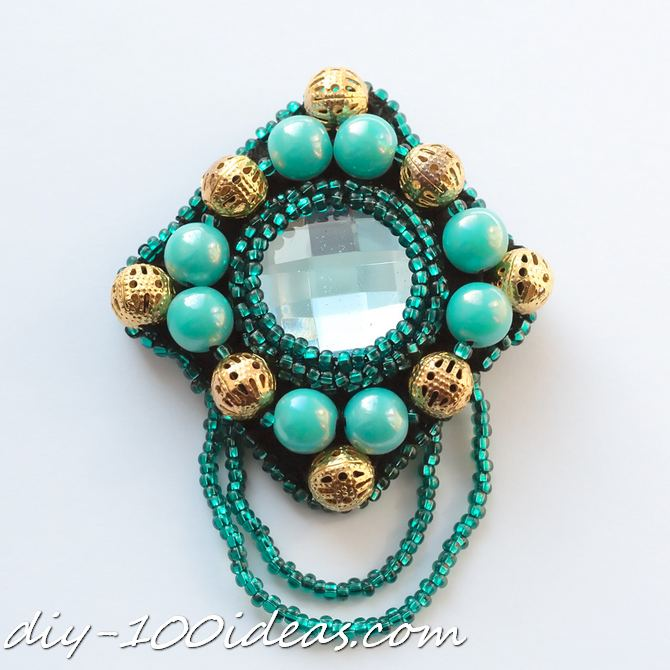 DIY beaded brooch (1)