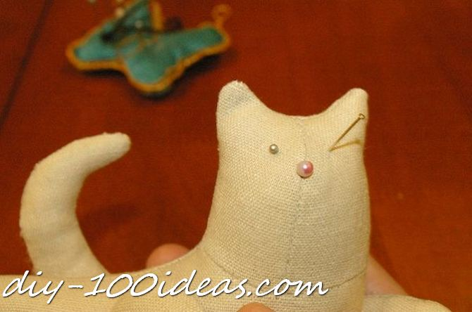 Free sewing pattern Tilda cat (23)