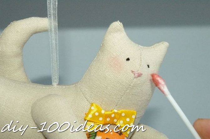 Free sewing pattern Tilda cat (28)