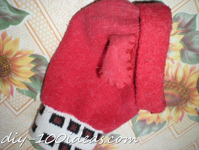 Dog hat from sock (5)