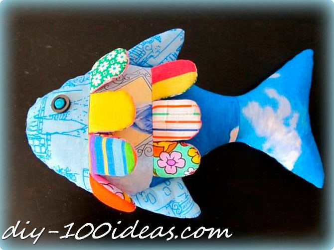 How to sew a fish (1)