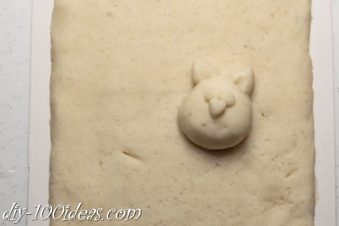 Salt Dough Cat  (5)