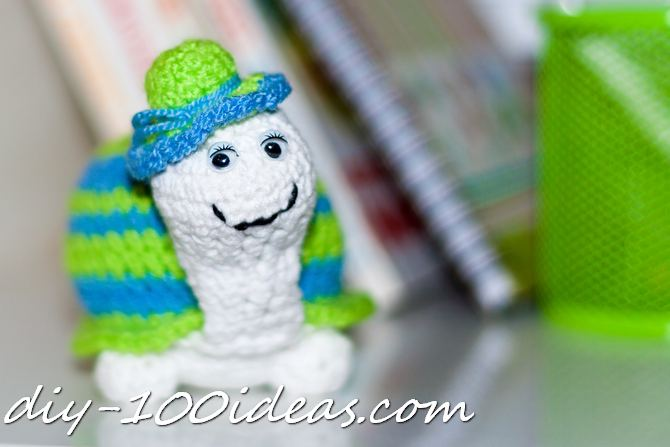 Crochet Turtle (1)