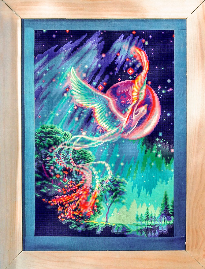 cross stitch pattern phoenix (1)