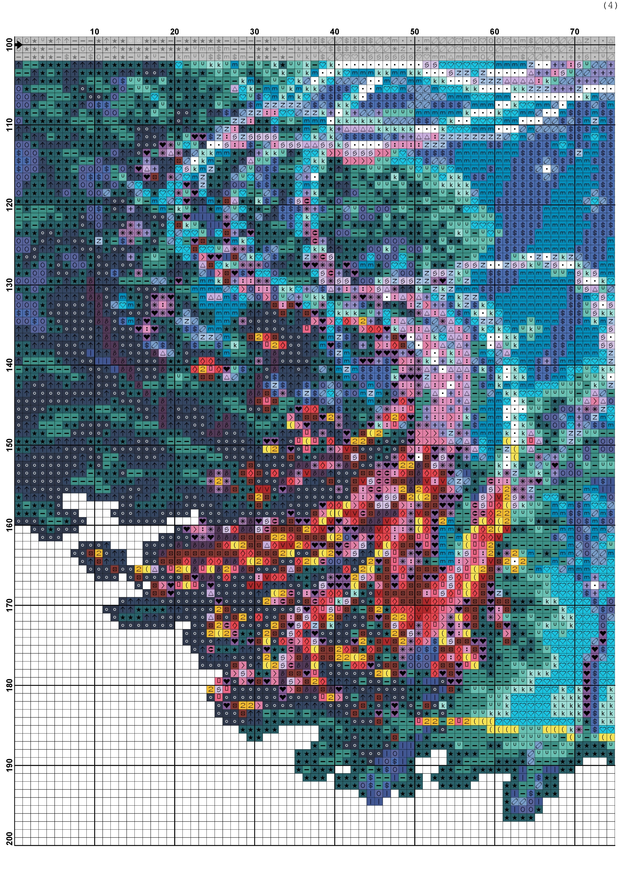 Free Cross Stitch Pattern Phoenix Diy 100 Ideas
