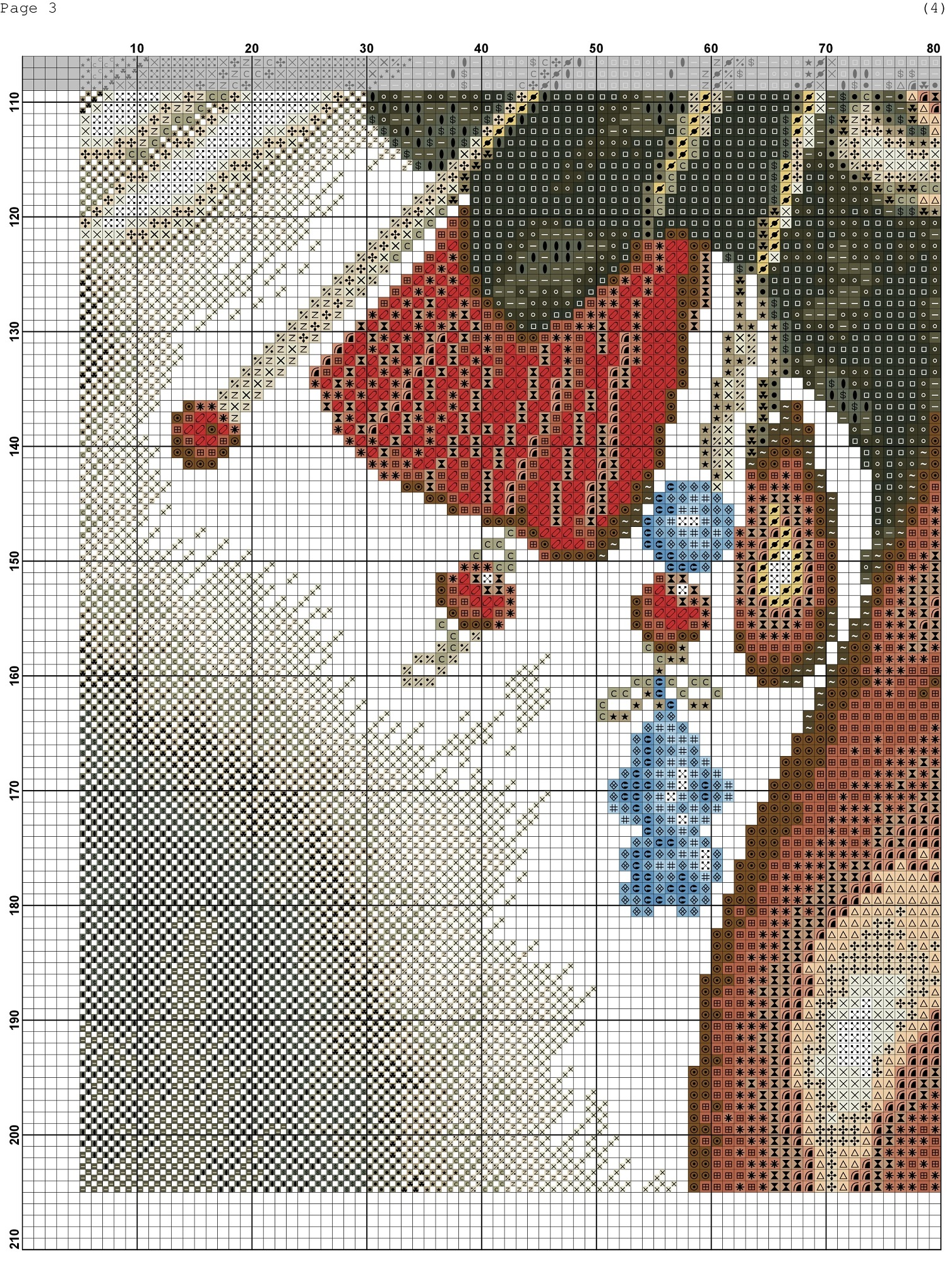 cross stitch african woman (4)