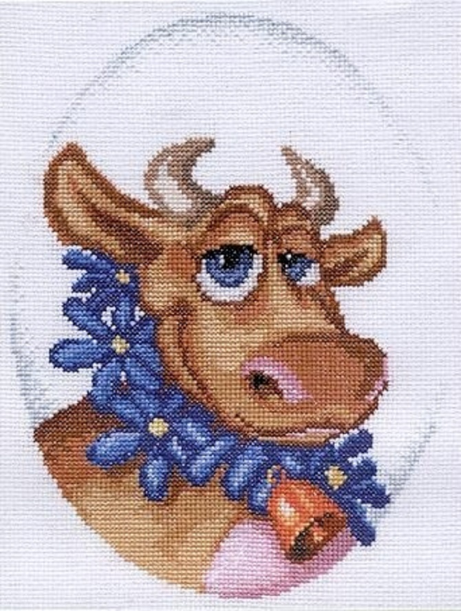 Cow Free Cross Stitch Patterns Diy 100 Ideas