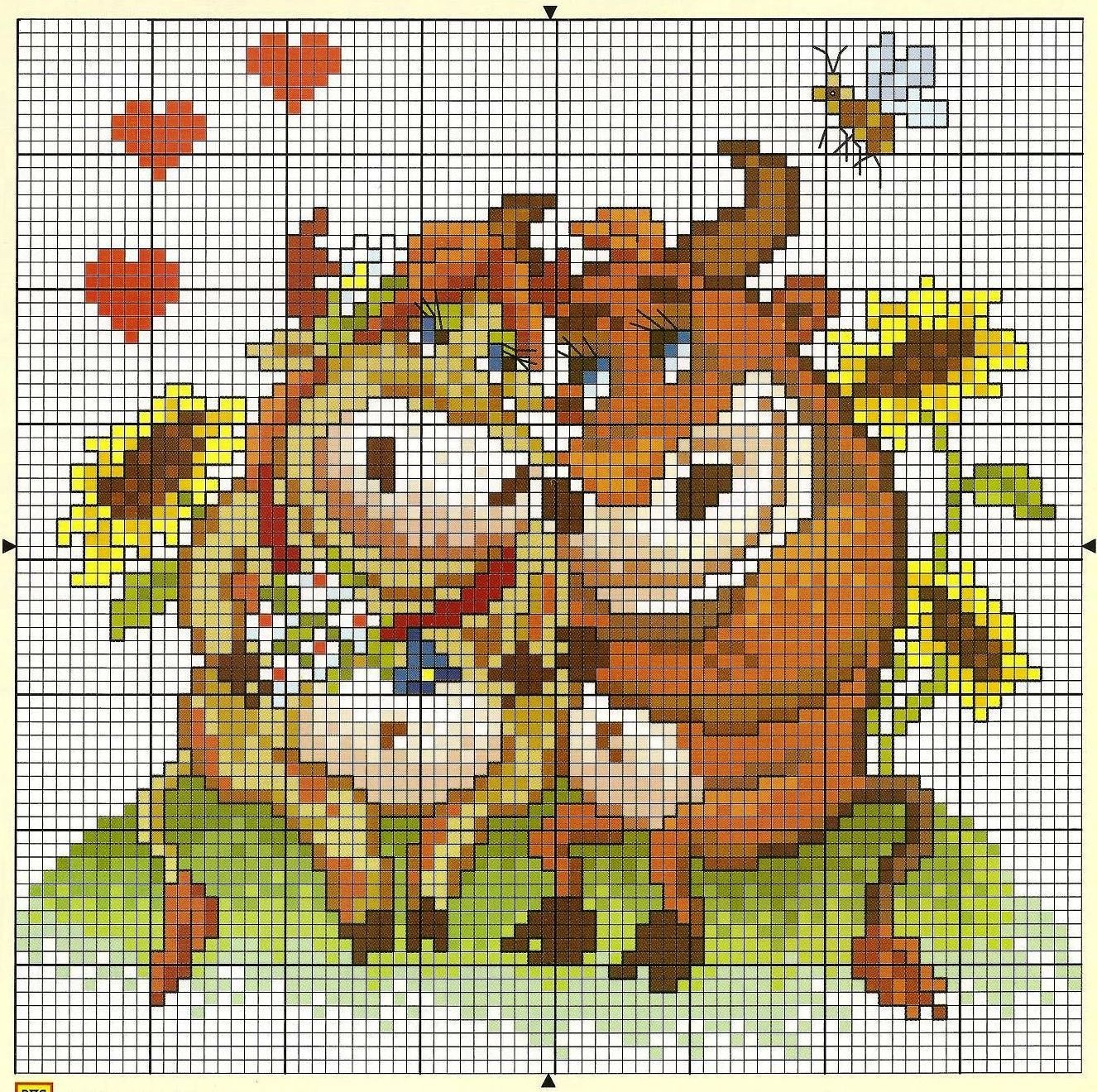 cross stitch cow pattern free (4)