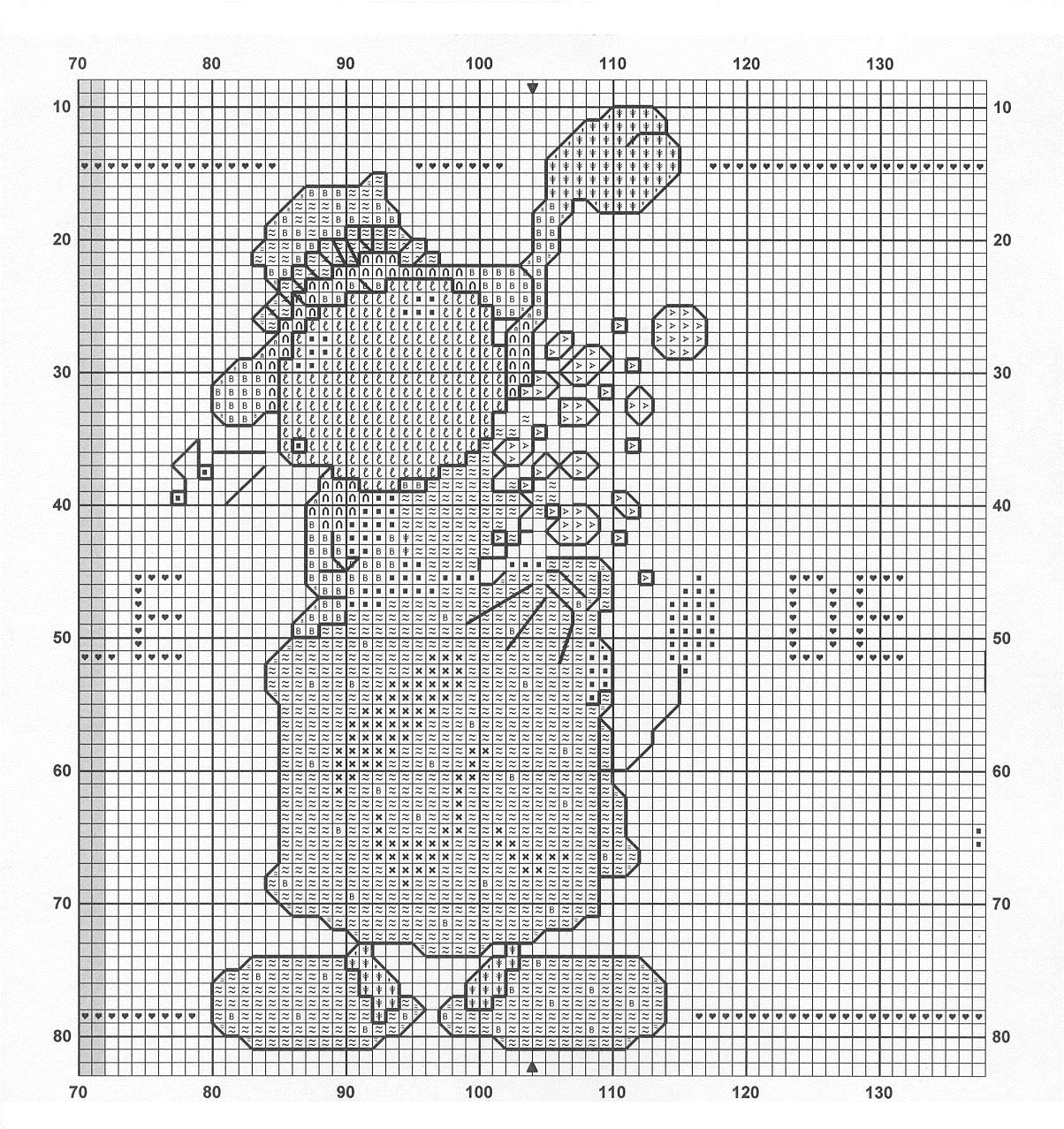Cow Free Cross Stitch Patterns Diy 100 Ideas