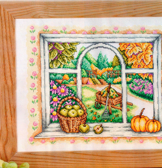 Cross stitch pattern Autumn (2)
