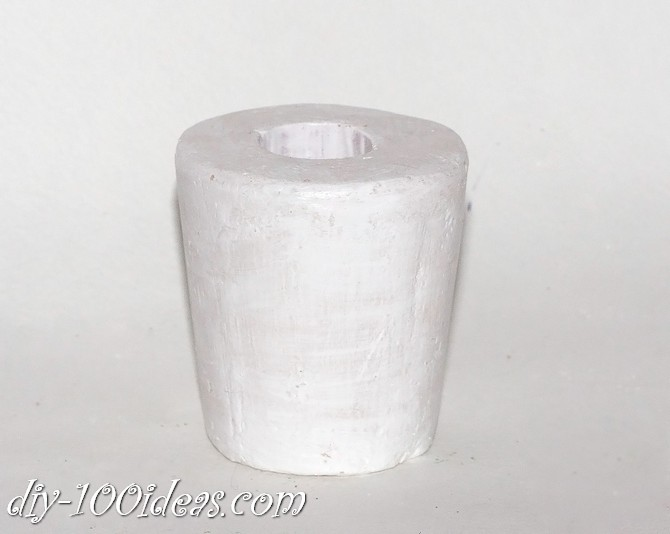 CEMENT CANDLE HOLDER (9)