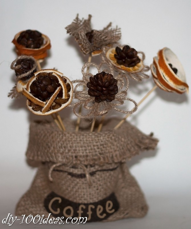 Coffee beans flowers (2)