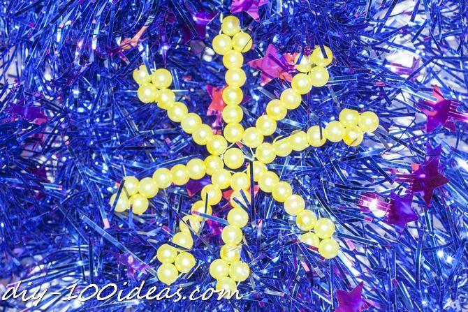 DIY Bead snowflake (14)