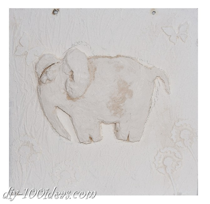 DIY  Elephant Wall Art (9)