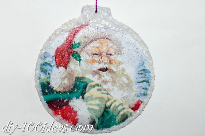 ball Christmas ornament crafts (28)