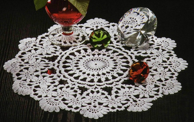 20 Free Crochet Round Doily Patterns | DIY 100 Ideas