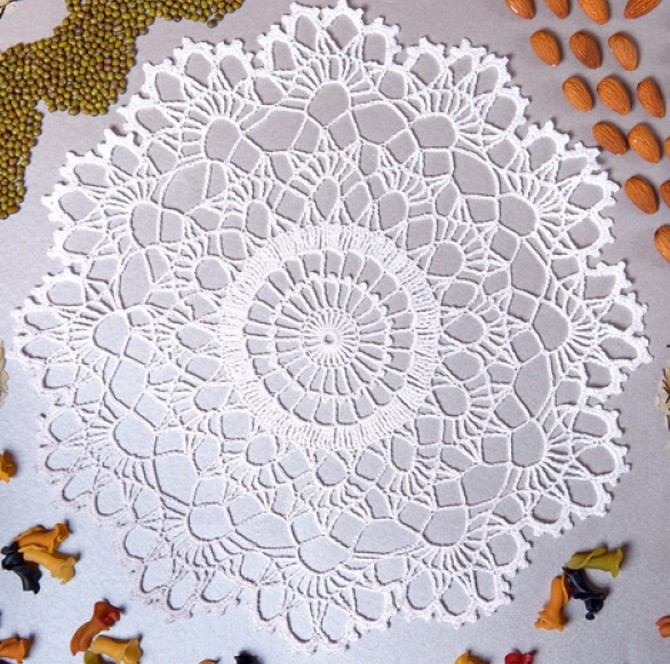 20 Free Crochet Round Doily Patterns Diy 100 Ideas