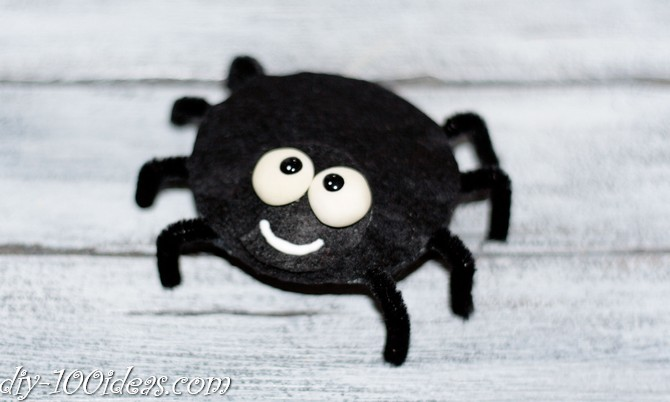 felt spider craft (7)
