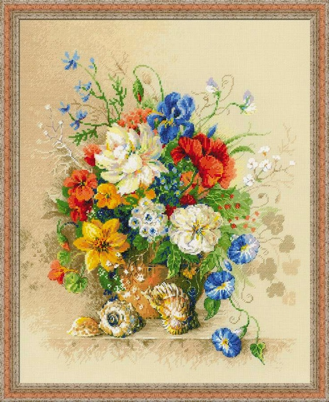 wildflowers cross stitch patterns (1)