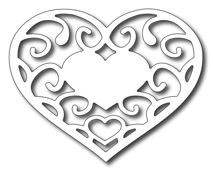 photo regarding Printable Hearts Templates identified as Totally free Printable Centre Templates Do it yourself 100 Strategies