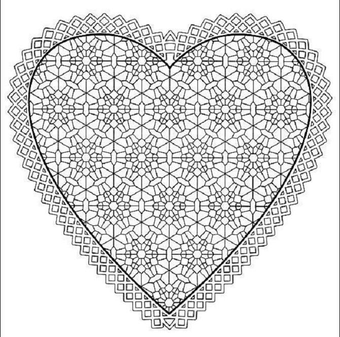 Free Printable Heart Templates | DIY 100 Ideas