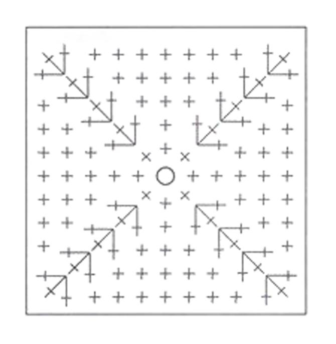 Crochet fish diy 100 ideas using this pattern crochet a two square motifs ccuart Choice Image