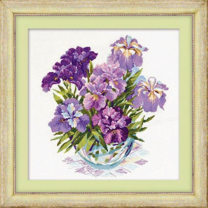 Cross_stitch_Pattern_Irises