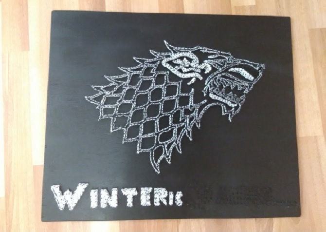 Game Of Thrones String Art Diy 100 Ideas