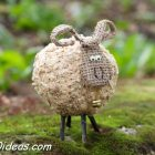 DIY Shavings Sheep