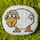 Cross stitch pattern Little Sheep