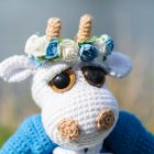 Crochet pattern Cow Catarina