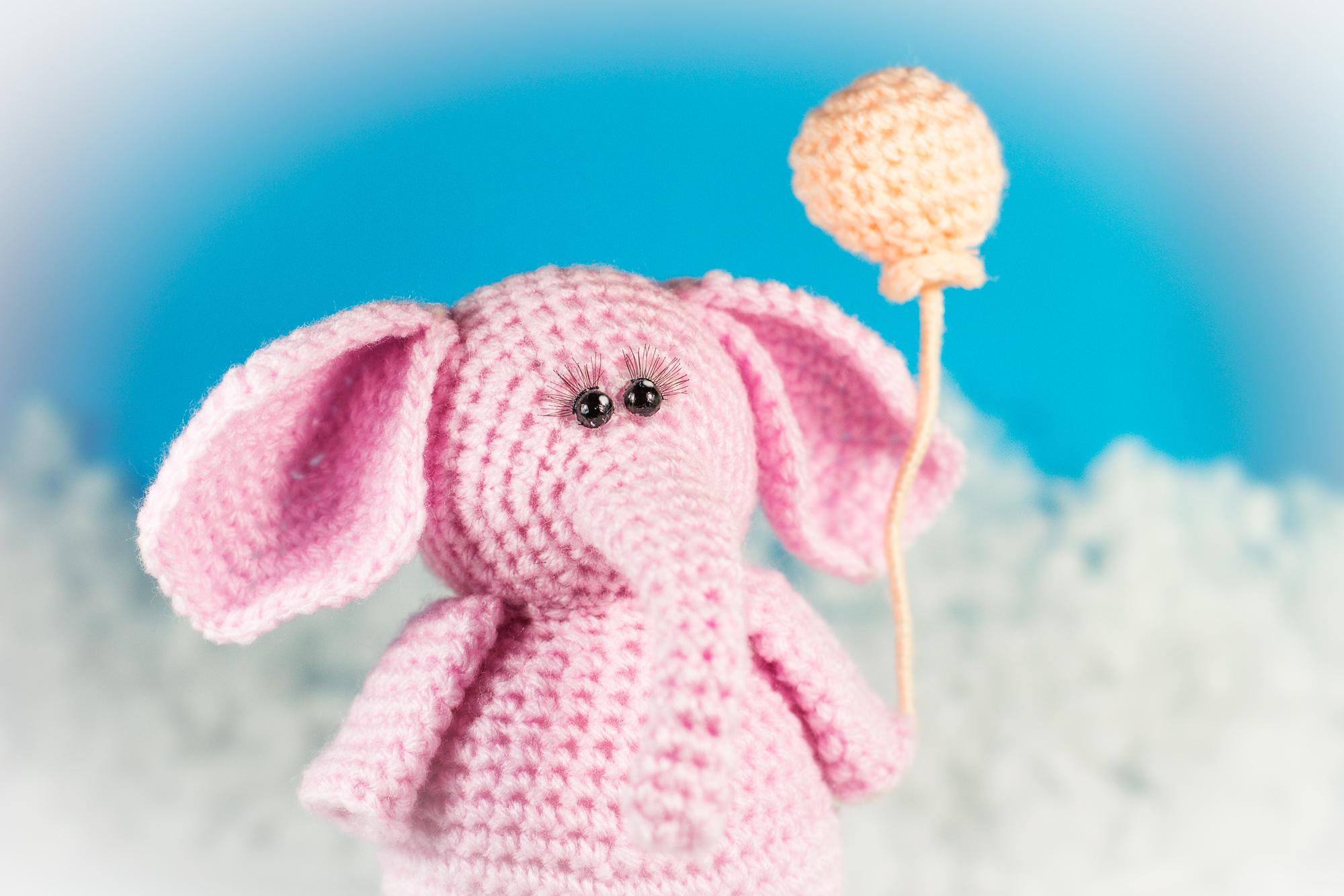 Free Crochet Pattern Elephant | DIY 100 Ideas