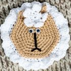 Free Crochet Pattern Applique Sheep