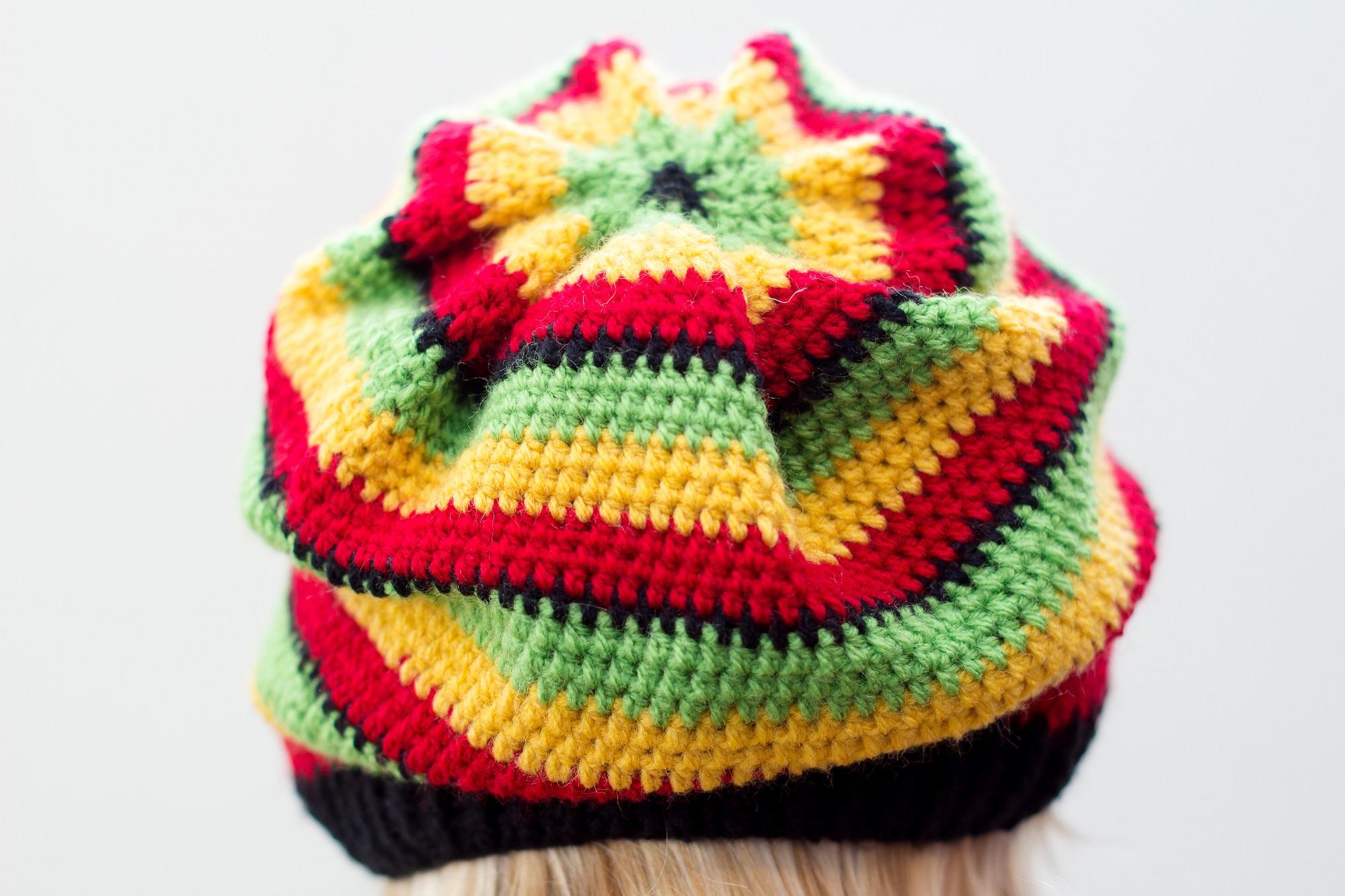 Crochet tutorial rasta hat diy 100 ideas this video tutorial shows you step by step how to crochet a rasta hat baditri Gallery