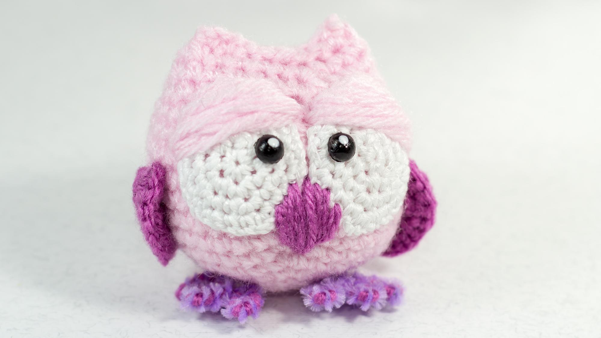 Amigurumi Bird Tutorial : Crochet tutorial amigurumi owl diy ideas