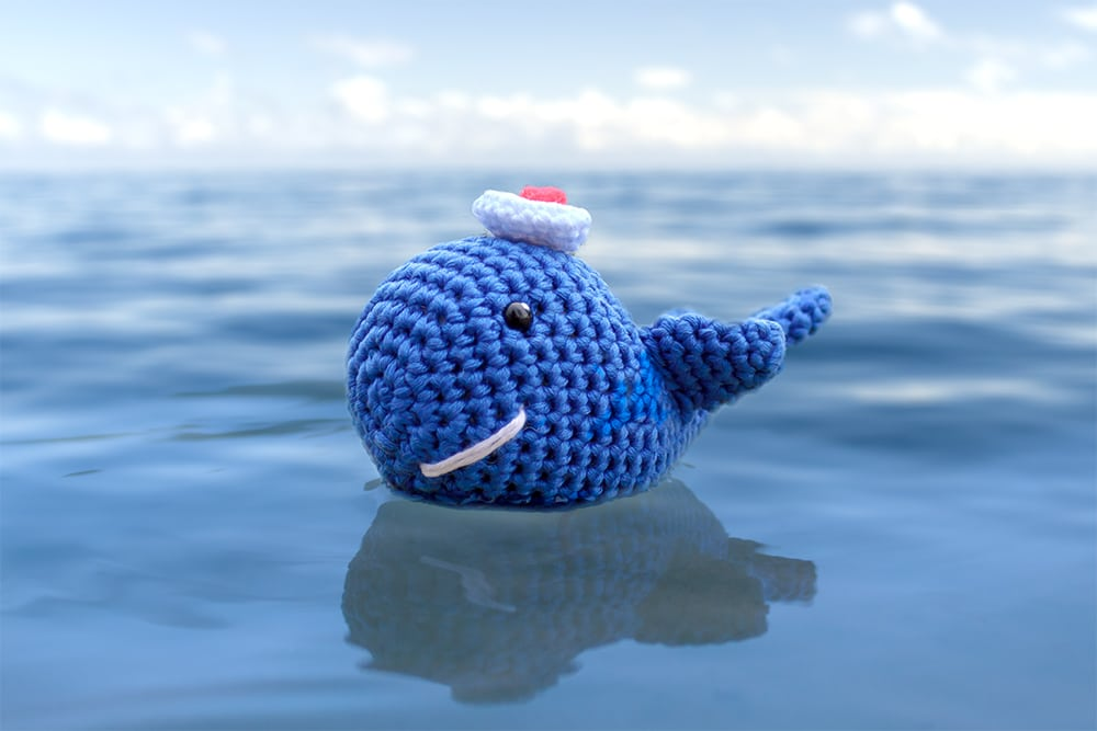 olenahuffmire.com video pattern free How to Crochet a Blue Whale ... | 667x1000