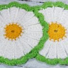 Crochet Tutorial Chamomile Coaster
