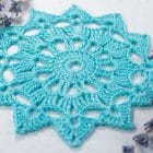 Crochet Tutorial Round Motif №1