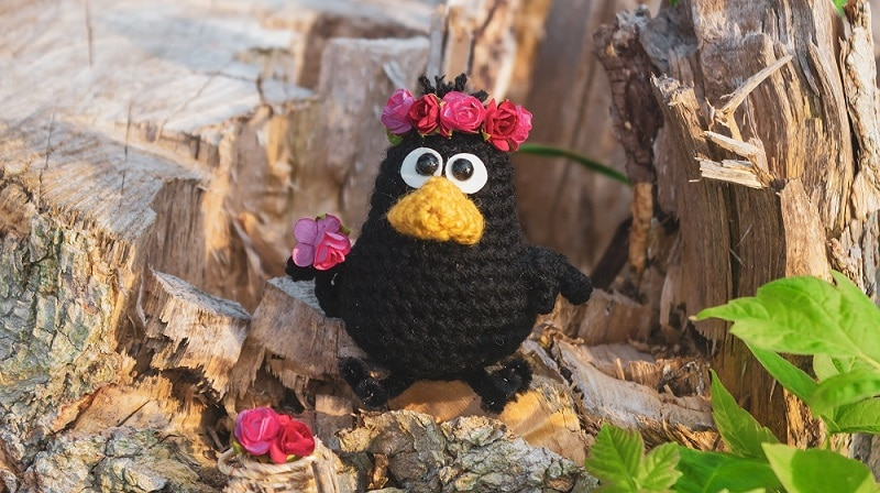 Crochet doll Rose amigurumi tutorial | Amiguroom Toys | 448x800