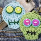 Crochet Tutorial Zombie Keychain