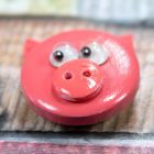 Kids Craft Button Pig