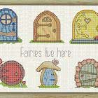 Cross Stitch Pattern Fairy Doors