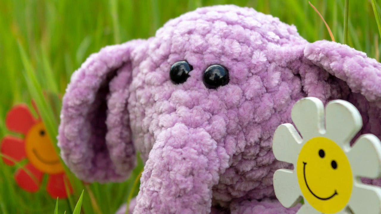 Crochet Tutorial Elephant | DIY 100 Ideas