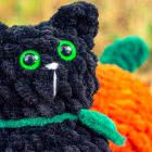 Crochet Tutorial Halloween Cat