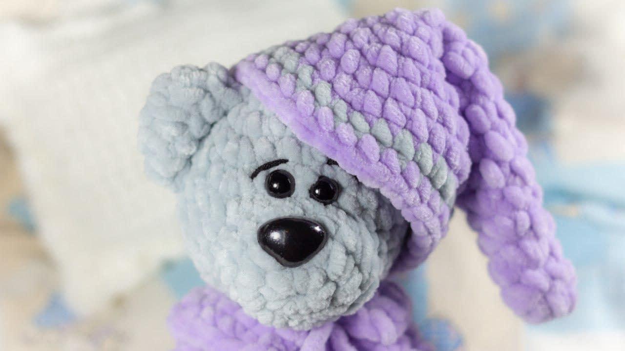 Crochet Teddy Bear Granny Squares, Free Pattern | The Homestead ... | 719x1280
