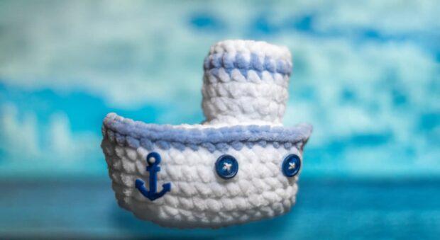 crochet ship