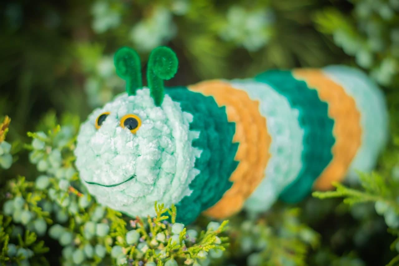 crochet pattern caterpillar