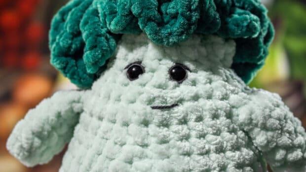crochet pattern broccoli